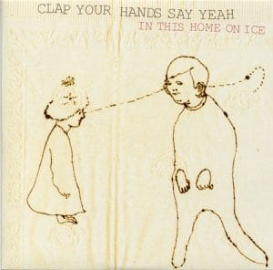 album cover for in this home on ice by clap your hands say yeah mixing engineer sara carter